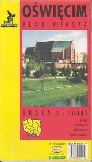 Oświęcim (plan miasta) - zdjęcie reprintu, mapy