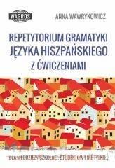 Repetytorium gramatyki języka hiszpańskiego - okładka podręcznika