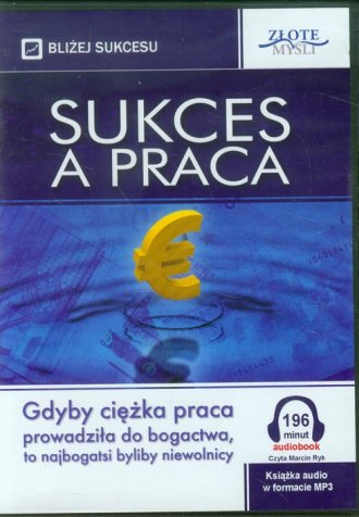 Sukces a praca (CD) - okładka książki