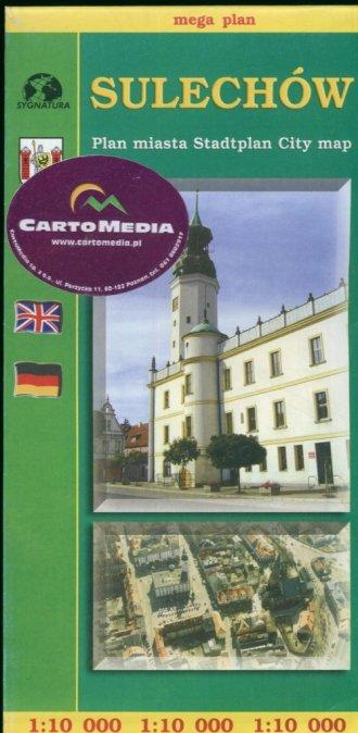 Sulechów - zdjęcie reprintu, mapy