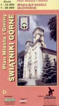 Świątniki Górne (plan miasta i gminy) - zdjęcie reprintu, mapy
