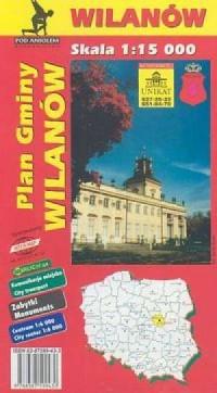 Wilanów - plan gminy - zdjęcie reprintu, mapy