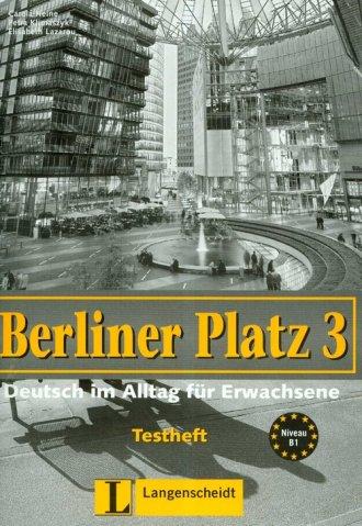 Berliner Platz Band 3. Testheft - okładka książki