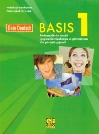Dein Deutsch. Basis 1. Podręcznik do nauki języka niemieckiego w gimnazjum dla początkujących - okładka podręcznika