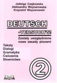 Deutsch Versuchs 2 - okładka podręcznika