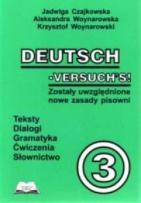 Deutsch Versuchs 3 - okładka podręcznika