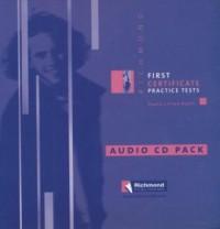 First Certificate Practice Tests (CD) - okładka książki