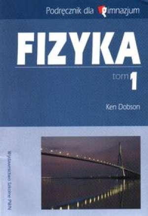 Fizyka. Tom 1. Gimnazjum. Podręcznik - okładka podręcznika