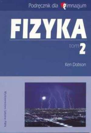Fizyka. Tom 2. Gimnazjum. Podręcznik - okładka podręcznika