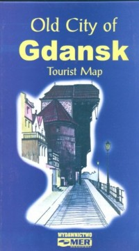 Gdańsk. Stare (Miasto Tourist Map) - zdjęcie reprintu, mapy