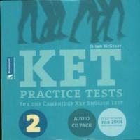 KET Practice Tests 2 (2 CD audio) - okładka książki