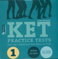 KET Practice Tests (2 CD) - okładka książki