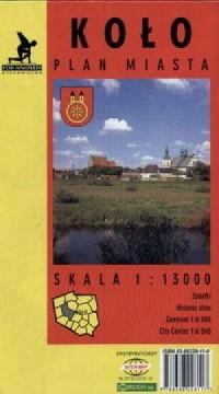 Koło-mapa - zdjęcie reprintu, mapy