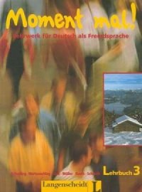 Moment mal! 3. Lehrbuch - okładka podręcznika