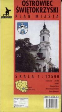 Ostrowiec Świętokrzyski (plan miasta) - zdjęcie reprintu, mapy