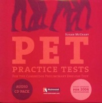 PET. Practice Tests (CD) - okładka książki