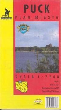 Puck (plan miasta) - zdjęcie reprintu, mapy