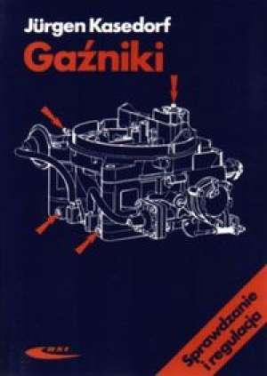 Gaźniki. Sprawdzanie i regulacja - okładka książki