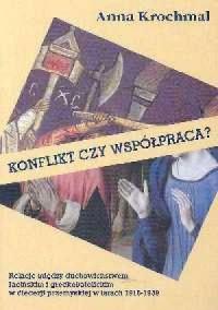 Konflikt czy współpraca - okładka książki