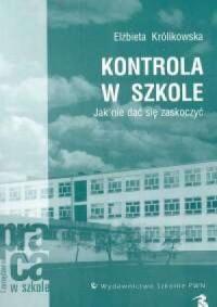 Kontrola w szkole - okładka książki