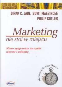 Marketing nie stoi w miejscu - okładka książki