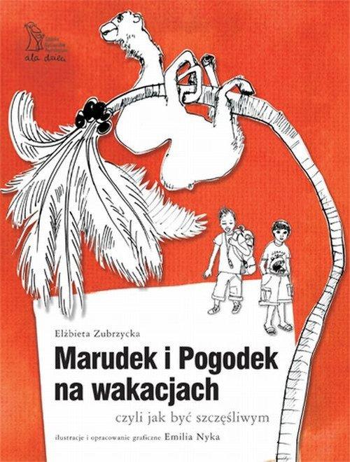 Marudek i Pogodek na wakacjach, - okładka książki