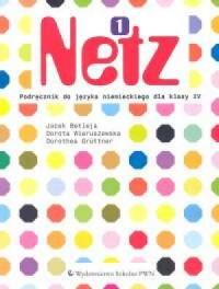Netz 1. Język niemiecki. Klasa 4. Szkoła podstawowa. Podręcznik - okładka podręcznika