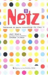 Netz 1. Język niemiecki. Klasa 4. Szkoła podstawowa. Podręcznik (kaseta) - okładka podręcznika