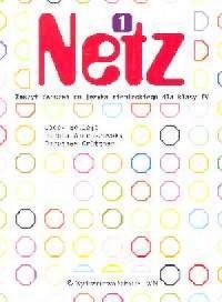 Netz 1. Język niemiecki. Klasa 4. Szkoła podstawowa. Zeszyt ćwiczeń - okładka podręcznika