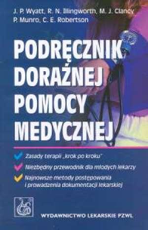 Podręcznik doraźnej pomocy medycznej - okładka książki