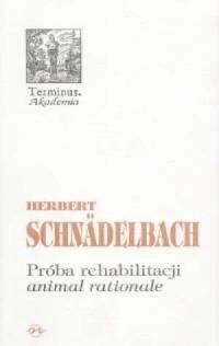 Próba rehabilitacji animal rationale - okładka książki