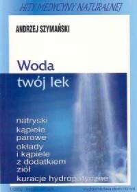 Woda twój lek - okładka książki