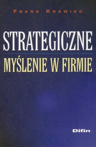 Strategiczne my�lenie w firmie