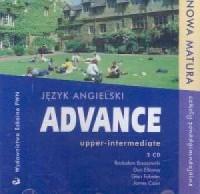 Advance upper-intermediate. Język angielski. Szkoła ponadgimnazjalna (+ CD) - okładka podręcznika