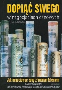 Dopiąć swego w negocjacjach cenowych - okładka książki