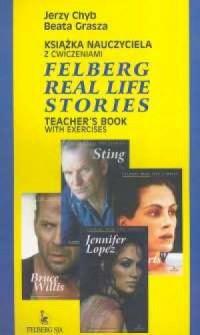 Felberg real life stories. Książka nauczyciela z ćwiczeniami - okładka książki