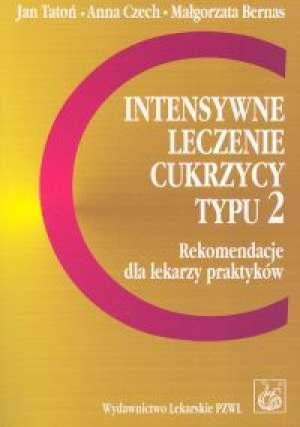Intensywne leczenie cukrzycy typu - okładka książki