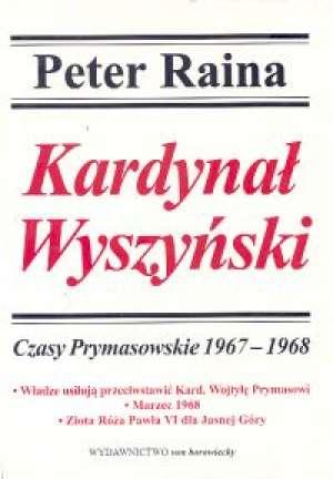Kardynał Wyszyński. Tom 8. Czasy - okładka książki