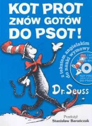 Kot Prot znów gotów do psot - okładka książki
