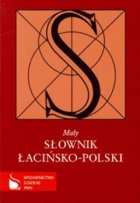 Mały słownik łacińsko-polski - okładka książki
