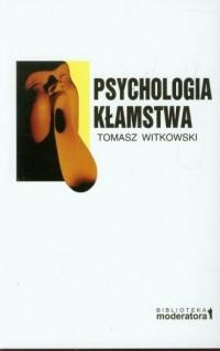 Psychologia kłamstwa - okładka książki