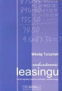 Rachunkowość leasingu - okładka książki