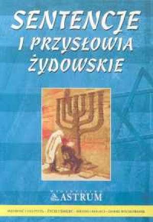 Sentencje i przysłowia żydowskie - okładka książki