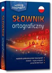 Słownik ortograficzny - Wydawnictwo - okładka książki