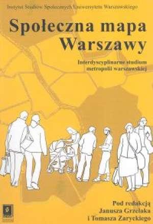 Społeczna mapa Warszawy - okładka książki