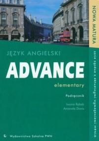 Advance elementary. Język angielski. Szkoła ponadgimnazjalna. Nowa matura. Podręcznik - okładka podręcznika