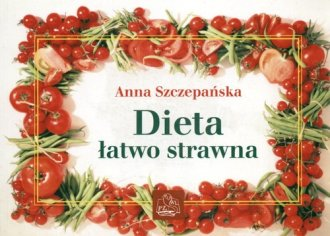Dieta łatwo strawna - okładka książki