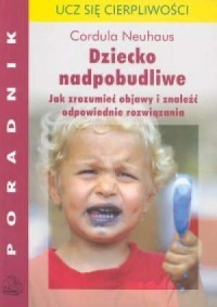 Dziecko nadpobudliwe - okładka książki
