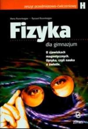Fizyka dla gimnazjum H. Zeszyt - okładka podręcznika