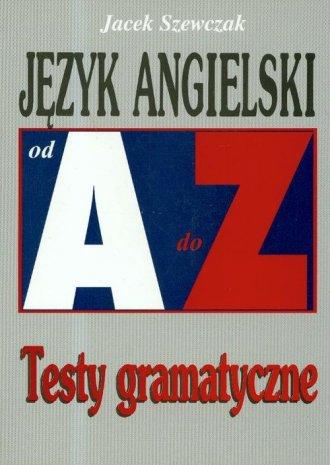 Język angielski. Testy gramatyczne - okładka podręcznika